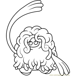 Tangrowth Pokemon coloring page