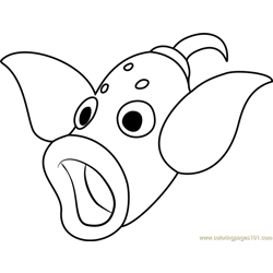 Weepinbell Pokemon coloring page