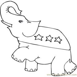 Vote (15) Free Coloring Page for Kids
