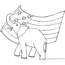 Vote (17) Free Coloring Page for Kids