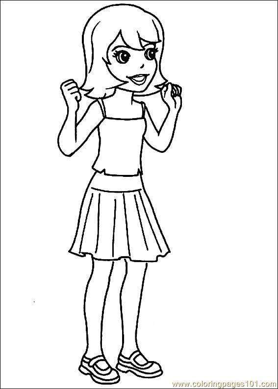 polly pocket 26 coloring page