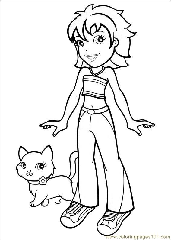Polly Pocket 36 Coloring Page