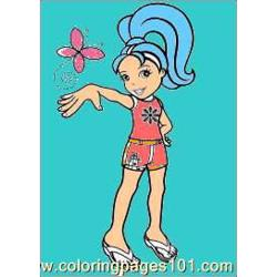 Polly Pocket Coloring Pages 8 Med Free Coloring Page for Kids