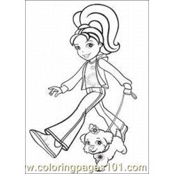 Polly Pocket Coloring Pages 10 Med coloring page