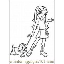 Polly Pocket Coloring Pages 11 Med coloring page