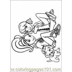 Polly Pocket Coloring Pages 15 Med coloring page