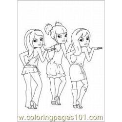 Polly Pocket Coloring Pages 1 Med coloring page