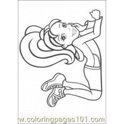 Polly Pocket Coloring Pages 7 Med coloring page