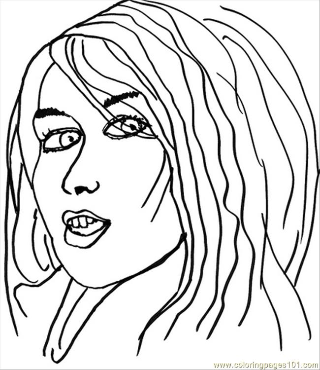 Pop Artist1ff Coloring Page Free Pop Artists Coloring