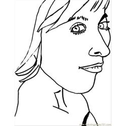 Pop Artistc coloring page