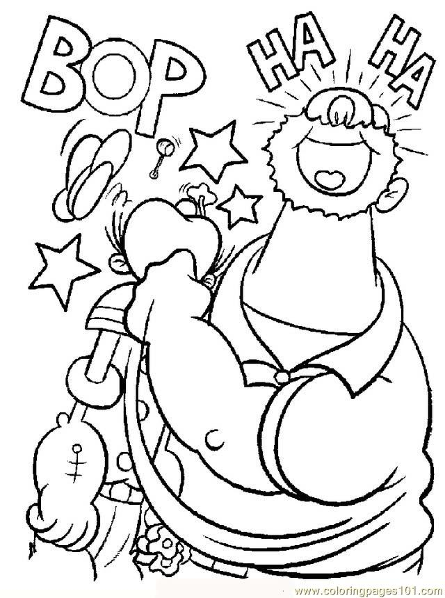 Popeye09 Coloring Page