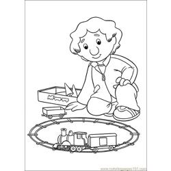 Postmanpat Coloring Pages