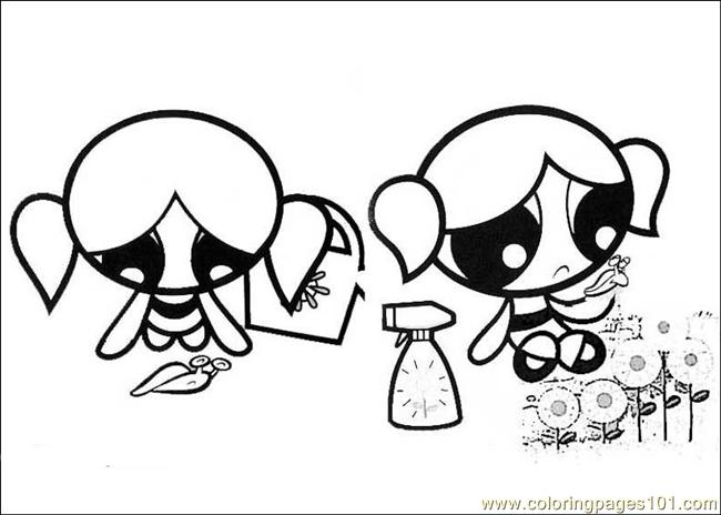 Powerpuff Girls14 Coloring Page
