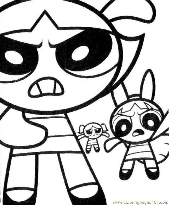 Ppg01 Coloring Page