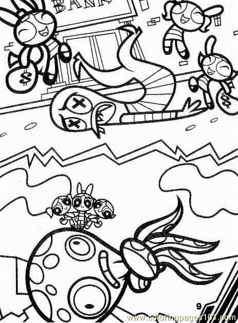 Ppg4 Coloring Page