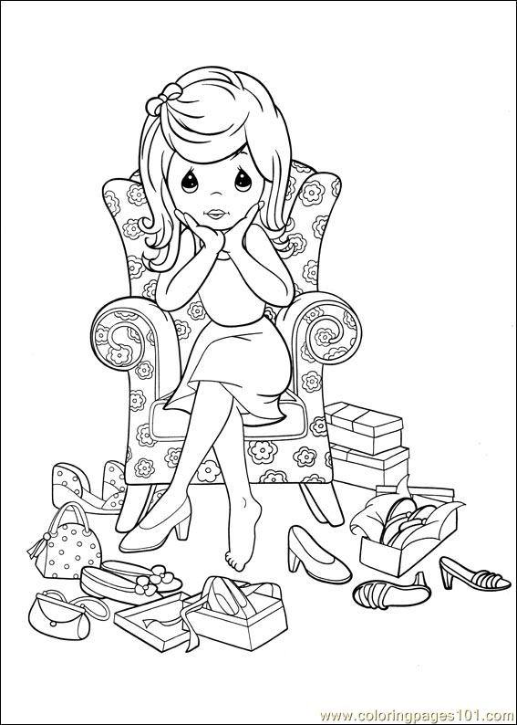precious moments coloring pages military - photo#12