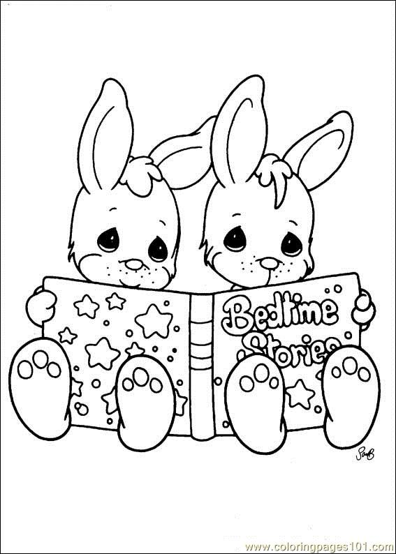 Precious Moments coloring pages on Coloring-Book.info   794x567