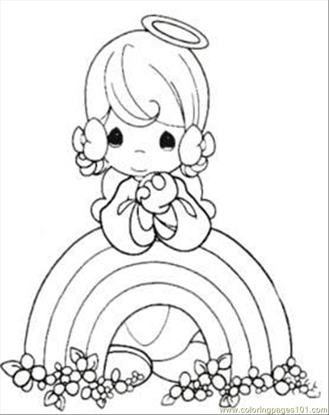 Moments Rainbow Coloring Page