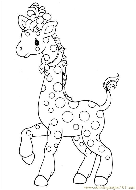 Precious Moments 11 printable coloring page for kids and ...