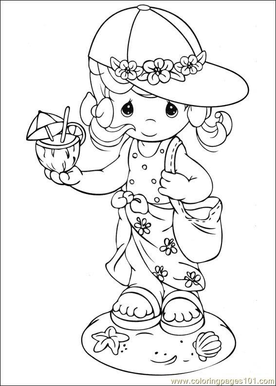 precious moments coloring pages military - photo#10