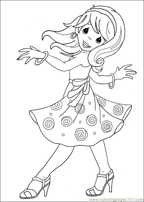 Precious Moments 39 Coloring Page