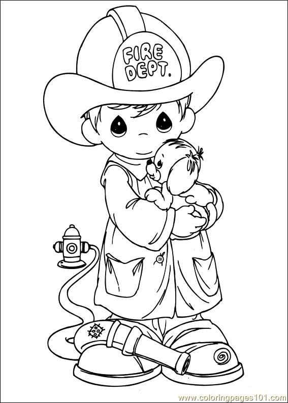 precious momemts coloring book pages - photo#47