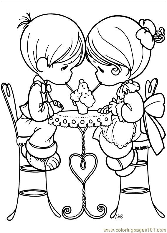 free precious moment coloring pages - photo#26