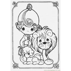 precious moments coloring pages cow - photo#49
