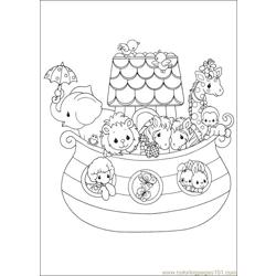 Precious Moments 05 coloring page