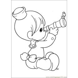 precious moments coloring pages cow - photo#43