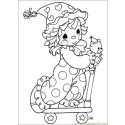 Precious Moments 55 coloring page