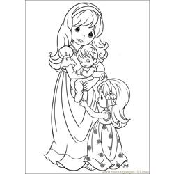 Precious Moments 58 coloring page