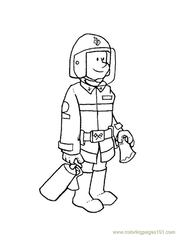 Beroep 13 Coloring Page