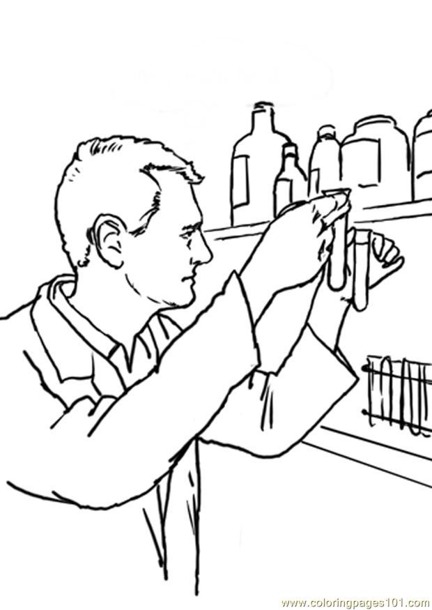 Beroep 23 Coloring Page