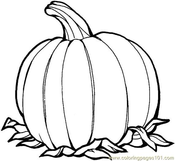 Pumpkin 2 Coloring Page - Free Pumpkin Coloring Pages ...