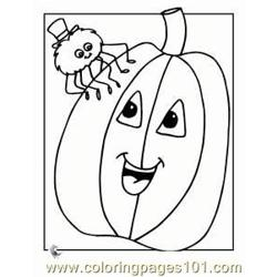 Pumpkin 20 coloring page