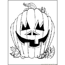 Pumpkin2 coloring page