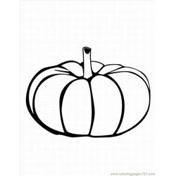 Pumpkinlrg Free Coloring Page for Kids