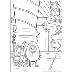 Puss In Boot 23 coloring page