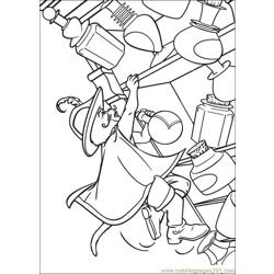 Puss In Boots 01 coloring page