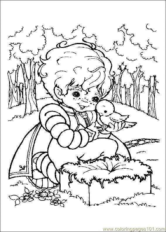 Rainbow Bright Coloring Page
