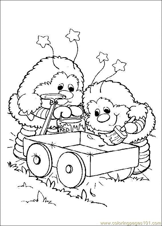 Rainbow Bright Coloring Page Free Rainbow Brite Coloring