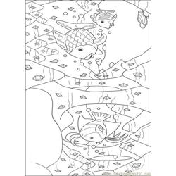 Rainbow Fish001 (10) coloring page