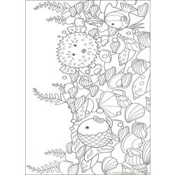 Rainbow Fish001 (12) coloring page
