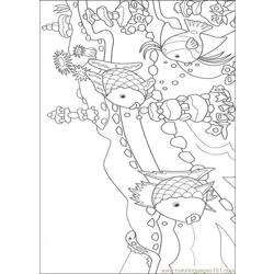 Rainbow Fish001 (14) coloring page