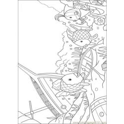 Rainbow Fish001 (16) coloring page