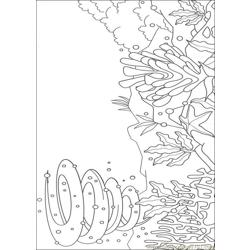 Rainbow Fish001 (2) coloring page