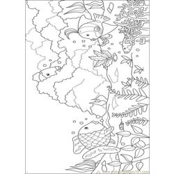Rainbow Fish001 4 Coloring Page Free Rainbow Fish