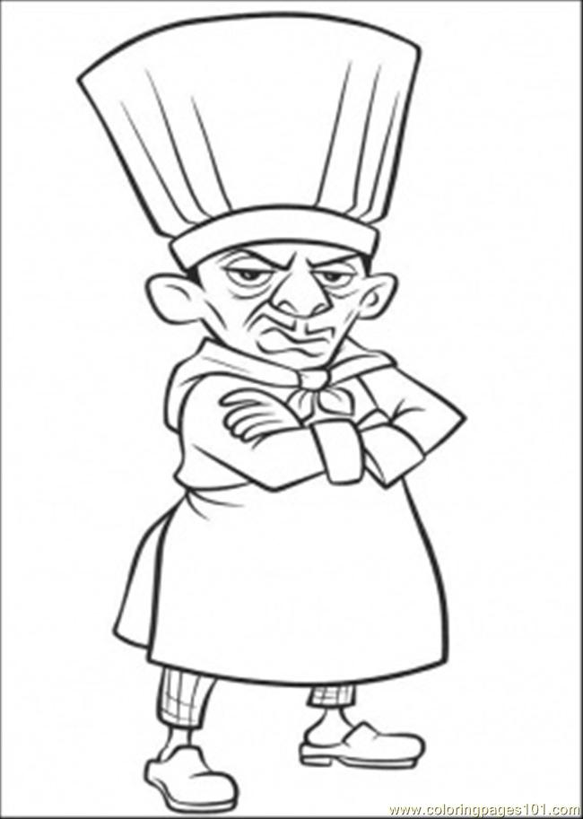 Ratatouille Coloring Pages - Remy | Coloring pages, Cartoon ... | 913x650