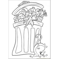 Remy Is Having Fun Free Coloring Page for Kids